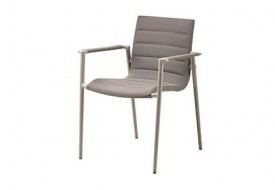 Core chair with armrests by Cane-line