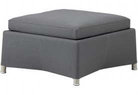 Cane line Diamond Footstool