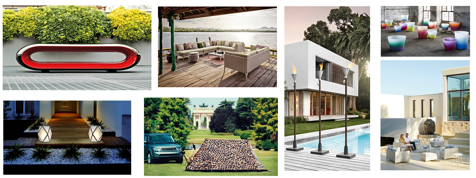 Outdoor chic products