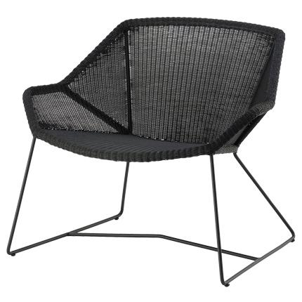 cane line breeze lounge chair outdoor lounge. Black Bedroom Furniture Sets. Home Design Ideas