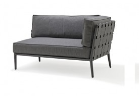 Cane line Conic 2 Seater Sofa module Left