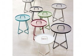 On the Move side table by Cane-line