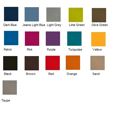 colour chart heddemaddock