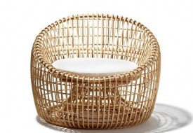 Nest Lounge Chair by Cane-line