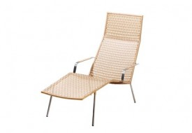 Straw Chaise Lounge by Cane-line