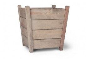 Kingham Wooden Planter by Garden Trading