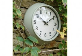 Weatherproof Outdoor Clock by Garden Trading