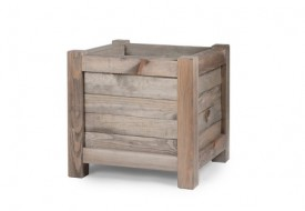 Wooden Planter Square by Garden Trading