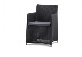 Cane line Diamond Dining Chair with Sunbrella Cushion