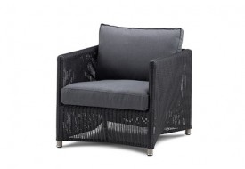 Cane line Diamond Lounge Chair with Sunbrella Cushions