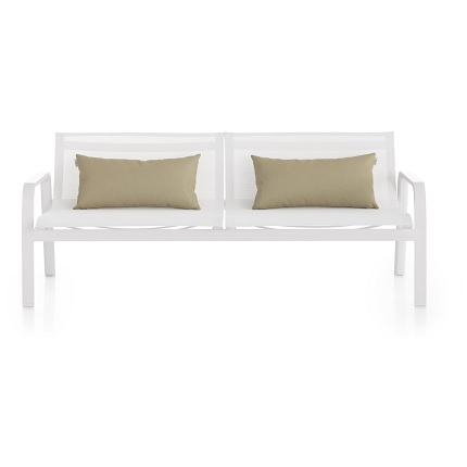flat sofa with arms