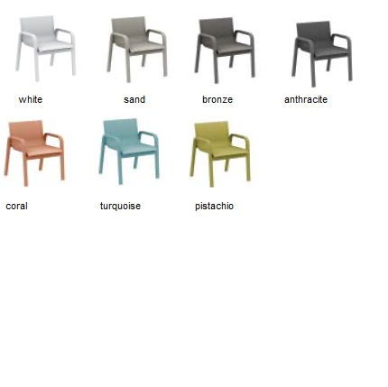stack chair colours