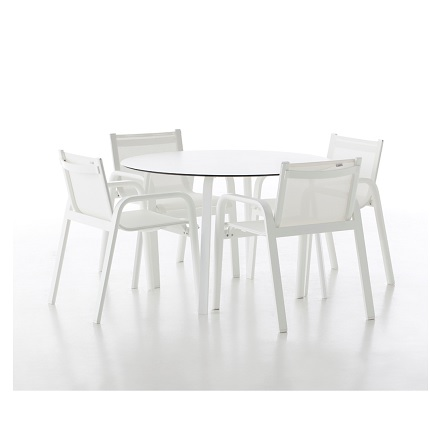 stack round table