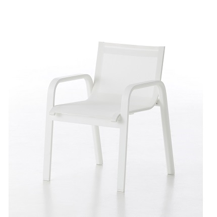 stack white chair