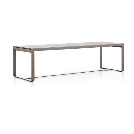 flat high table brown