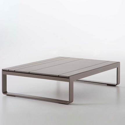 Gandia Blasco Flat Low Coffee Table Outdoor Furniture