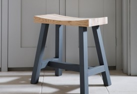 Clockhouse Stool by Garden Trading