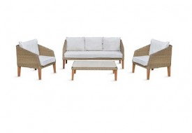 Ambersham Rattan Furniture Set by Garden Trading