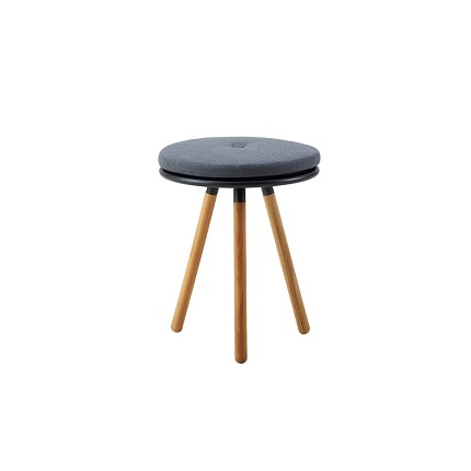area stool with cushion