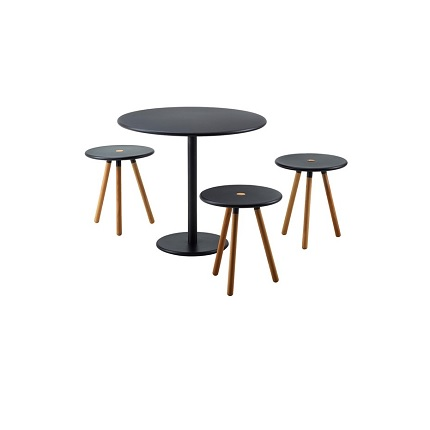 area stools with go table