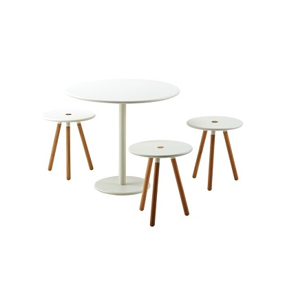 area stools with go tables