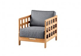 Square Lounge Chair by Cane-line