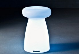 Porcino Stool Light by Serralunga