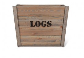 Aldsworth Log Box by Garden Trading