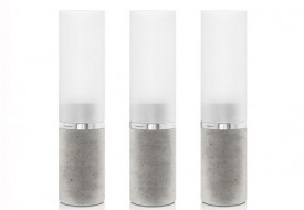 Concrete Tealight Holders by Blomus