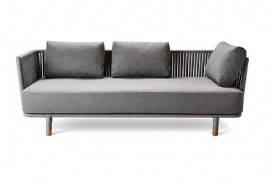 Moments 3 Seater Sofa by Cane-line