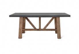 Cement Fibre Chilson Table by Garden Trading
