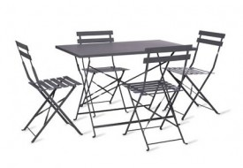 Rive Droite Bistro Table & Chairs Set by Garden Trading