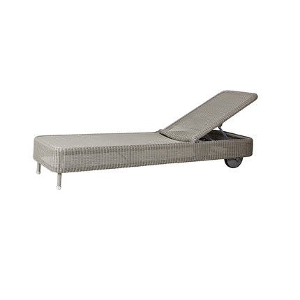 presley lounger taupe