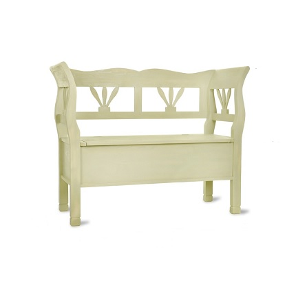 hungarian settle bench clay small