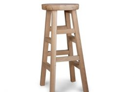 Hambledon Oak Stool - Tall by Garden Trading