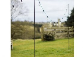 Festoon Lights Pole by Garden Trading
