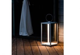 Oslo Rechargeable Outdoor Lantern by Unopiu