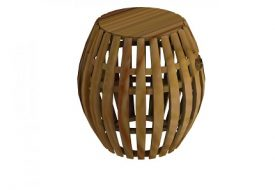 Swing Teak Stool by Unopiu
