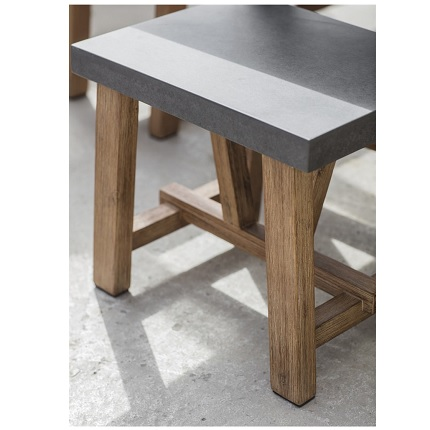 chilson table and bench set small 3