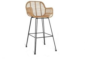 Hampstead Bar Stool - All Weather Bamboo by Garden Trading
