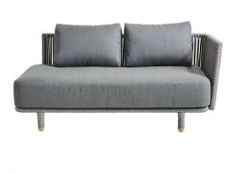 Moments 2 Seater Sofa Module Left by Cane-line