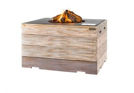 Nice & Nasty Rectangular Cocoon Firepit by Happy Cocooning