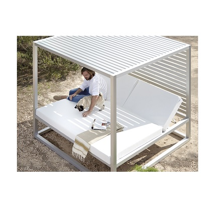 reclining daybed fixed slats