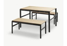 Reform Teak Picnic Bench Set by Skagerak
