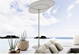 Coral Reef Oval Sunshade by Roberti