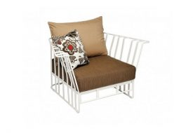 Hamptons Graphic Armchair by Roberti